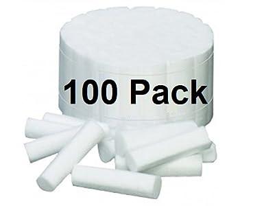 Algodón Dental rollos tamaño mediano # 2 1,5