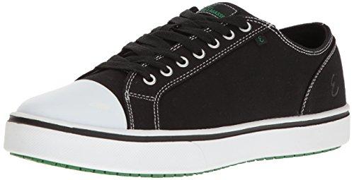 Emeril Lagasse Men's Canal Canvas  Slip-Resistant Shoe, Black/White, 10.5 W US