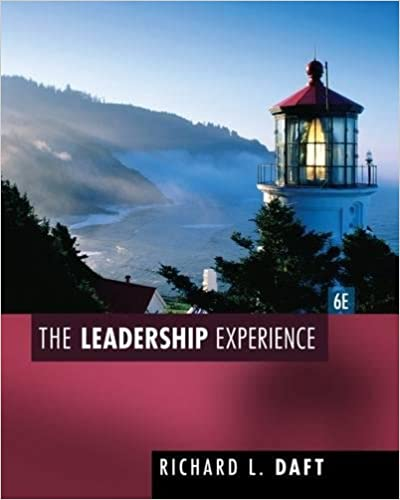 The leadership experience richard l daft 9781435462854 amazon the leadership experience 6th edition fandeluxe Gallery