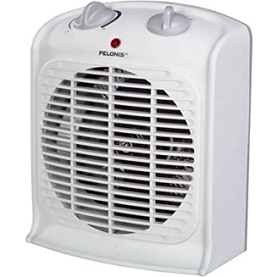 Pelonis Portable Fan Heater White