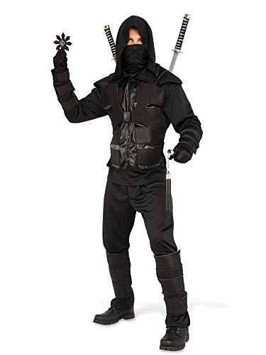 Rubie's Men's Dark Ninja Costume, As As Shown, Standard
