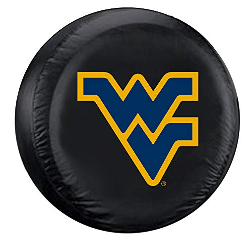 Fremont Die NCAA West Virginia Mountaineers Tire Cover, Large Size (30-32