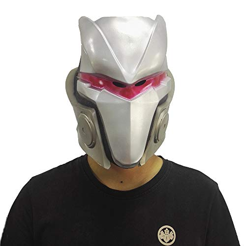 Premium Fortnite Omega Skin Mask - Cosplay Halloween Costume (Adult Party Clothing) -
