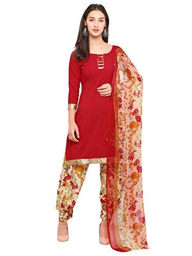 Sanisa Women's Crepe Dress Material