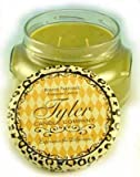 Tyler Glass Jar Candle - 22 oz Long Burning Scented Candle - Signature Tyler Scent