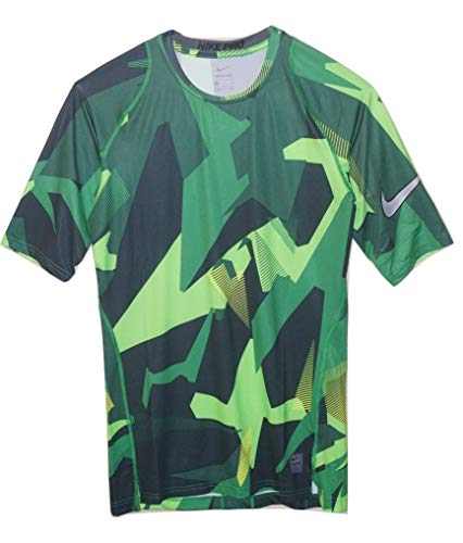 Nike Pro Mens Graphic Training Football Shirt (MD Apparel) Purple