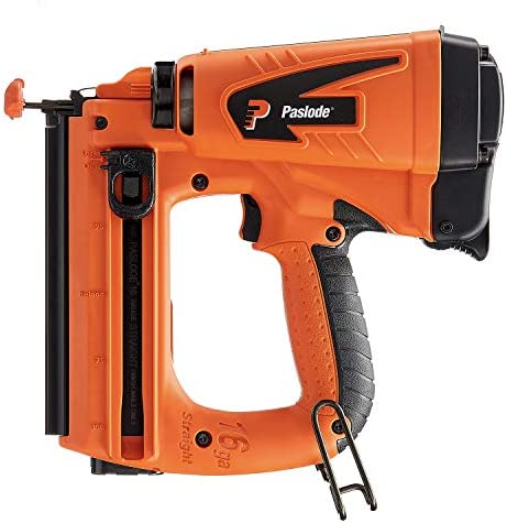Paslode – 916000 16 Gauge Straight Cordless Finish Nailer – Battery and Fuel Cell Powered – No Compressor Needed