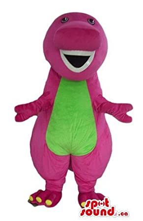 Barney the dinosaur cartoon character SpotSound Mascot Canada costume fancy dress  sc 1 st  Amazon.ca & Barney the dinosaur cartoon character SpotSound Mascot Canada ...