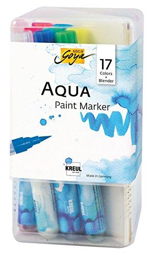 Powerpack XXL KREUL Solo Goya Aqua Paint Marker