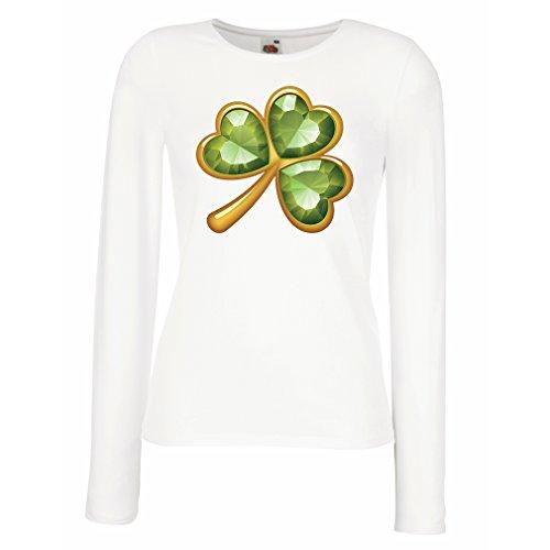 t-shirts-for-women-long-sleeve-irish-shamrock-st-patricks-day-clothing-medium-white-multi-color