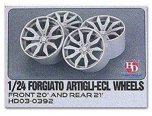 Hobby Design 1/24 Forgiato Artigli-ecl wheel F20 'R21' HD03-0392