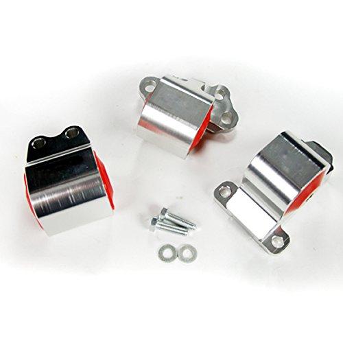 Rev9Power Rev9_HMM-001; Aluminum Billet Motor Mount For Acura Integra 94-01/Honda Civic 92-95
