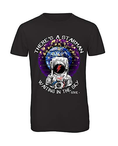 shirt Tshirt T David Starman Bowie Maglia WH9Y2IeED