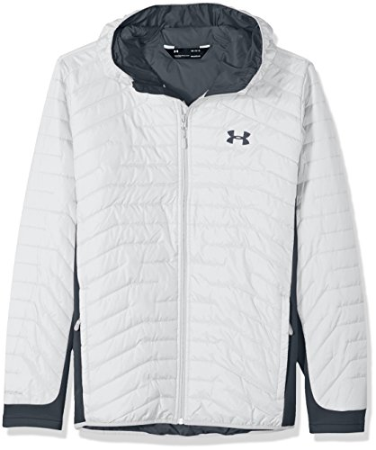 Gray Under Armour Uomo White Reactor Coldgear Da Hybrid Sotto stealth Jacket Armatura qrPB4Aaq
