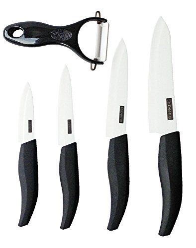 - Leberna Ceramic Knife Set - 5 Pieces | 6