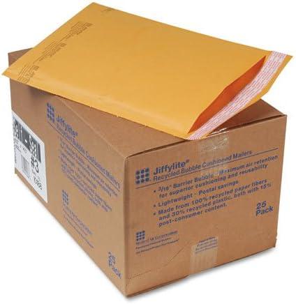 Sealed Air 10188 Jiffylite self-seal Mailer , # 3 , 8 1 / 2 x 14 1 / 2、ゴールデンブラウン、25 /カートン