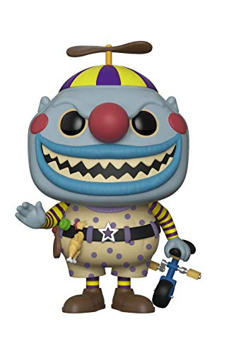 Funko Pop Disney: Nightmare Before Christmas-Clown Collectible Figure, Multicolor