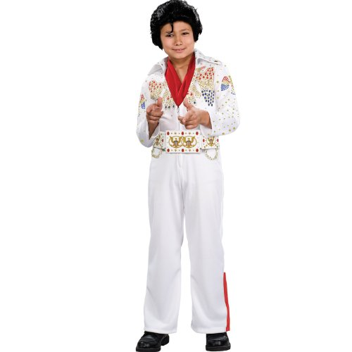 Elvis Bling - Rubie's Deluxe Elvis Child Costume, Large Size, One Color