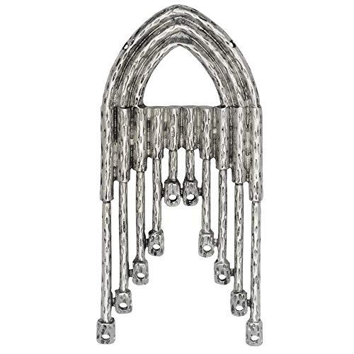 Zola Elements Pendant, Gothic Arch Chandelier 67mm, 1 Piece, Antiqued Silver Tone