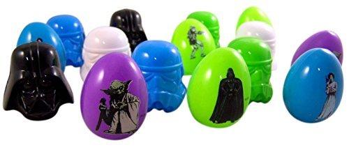Star Wars Easter Egg Hunt Candy Character Filled Eggs, 16 -