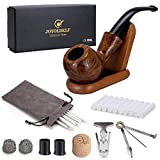 Joyoldelf Rosewood Tobacco Pipe Set with Wooden