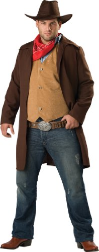 Xxx Large Costumes (InCharacter Costumes Men's Rawhide Renegade Costume, Brown/Tan, XXX-Large)
