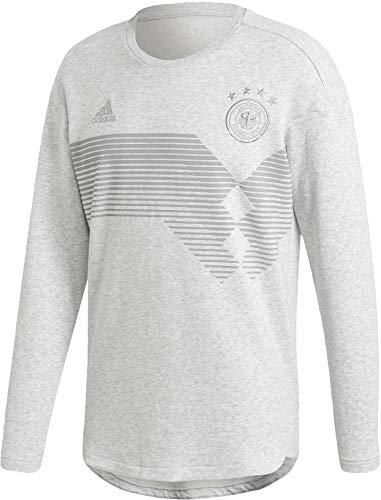 adidas 2018-2019 Germany Seasonal Special Sweatshirt (Light Grey)