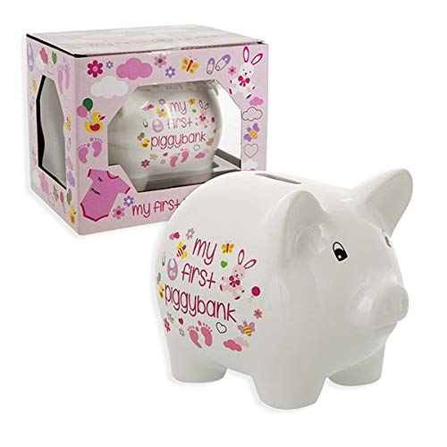 Baby Essentials My First Piggy Bank for Girl ()