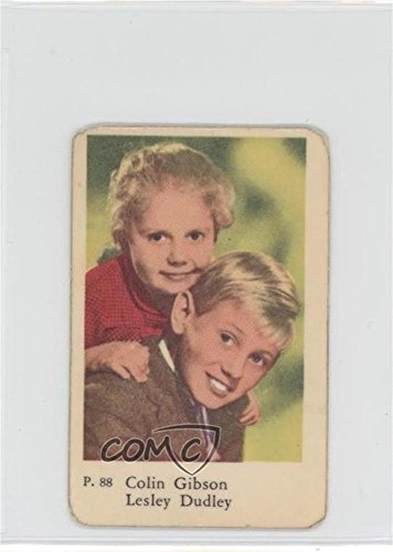 Colin Gibson; Lesley Dudley COMC REVIEWED Insignificant to Fair (Trading Card) 1958 Dutch Gum P. Set - [Base] #P. 88