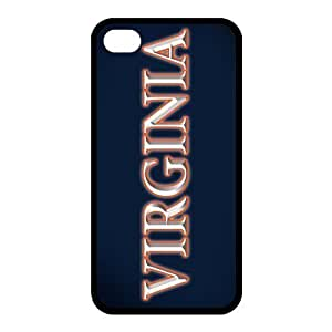 Customize NCAA Basketball Team Virginia Cavaliers Back Cover Case for iphone 4 4S
