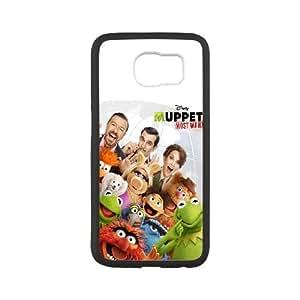 Muppets Most Wanted funda Samsung Galaxy S6 Cubierta blanca del teléfono celular de la cubierta del caso funda EOKXLKNBC23543