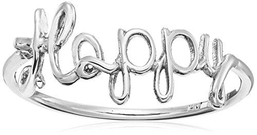 14k Italian GoldHappy Ring