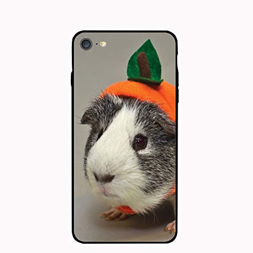 iPhone 7 Case,Guinea Pig in Costume for Girls Women Best Protective Rubber Slim Fit Thin Phone Case Compatible for iPhone 7 ()