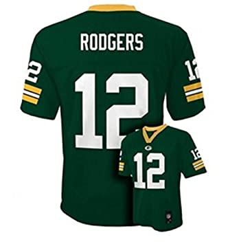 online retailer c17fe bb48c Outerstuff Aaron Rodgers Green Bay Packers Infant/Baby Green Jersey
