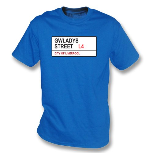 Punk Football Gwladys Street L4 T-Shirt Everton - Everton Shirt Football