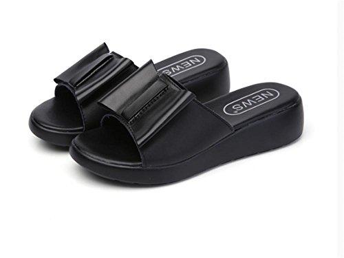 fashion de d¡¯¨¦t¨¦ fond dames pantoufles 3 pantoufles pengweiChaussures d¨¦rapant plat cool anti qd6tUEtxn