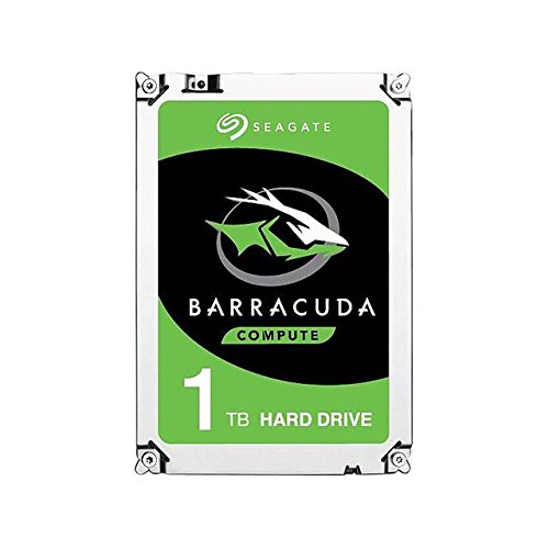 Seagate BarraCuda 1TB Internal Hard Drive HDD - 3.5 Inch SATA 6 Gb/s 7200 RPM 64MB Cache for Computer Desktop PC (ST1000DM010)