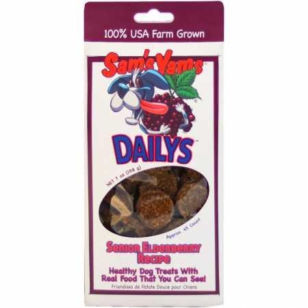 Sam'S Yams Cookies Sweet Potato Dog Treats, Berry Yammy, 4.5 Ounces