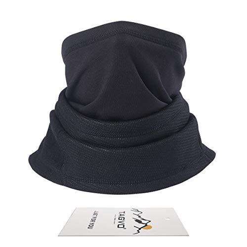 TAGVO Cache-Cou col Nez Hiver, Multifonction 4-en-1 écharpe Polaire Tour de Cou Tube de Longue Cou Chaud épais… 1