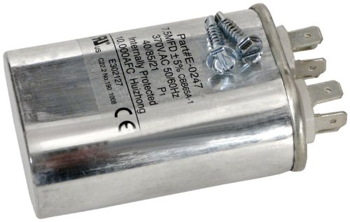 Zodiac R3001100 7.5/370 Microfarad Fan Motor Capacitor Replacement for Select Zodiac Jandy Pool and Spa Heat Pumps