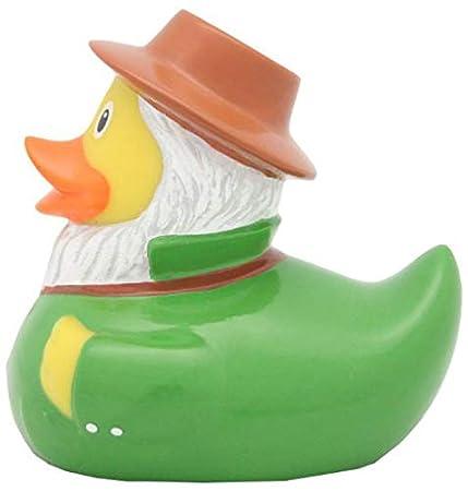 Cuento de hadas SET Varios colores y dise/ños #WORLD Acollador de Pato Animales LILALU:Balthasar Duck // 2079 Deportes LILALU/® PATO DE GOMA