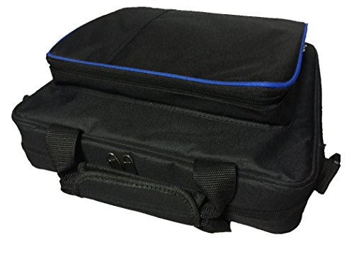 PS4 Carrying Case Travel Storage PlayStation Carrying Case Protective Shoulder Bag Handbag for PlayStation PS4, PS4 Pro, Console and Accessories