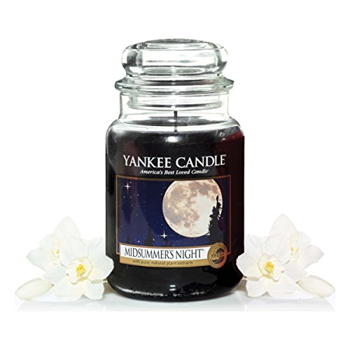 Yankee Candle Classic Housewarmer Large, Midsummer's Night, Scented Candle, Room Scent in Glass / Jar, 115174E - Midsummers Night Scent
