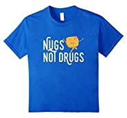 Nugs Not Drugs Funny Dancing Chicken Nuggets T-Shirt