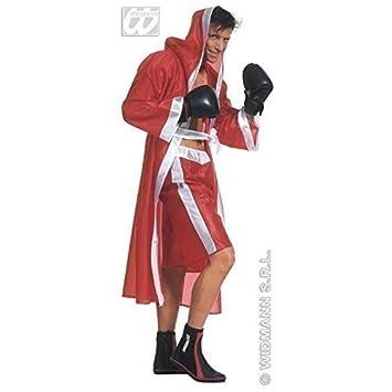 Disfraz de boxeador / Traje monumental Boxer / Bata boxeo en rojo Talla M=50: Amazon.es: Juguetes y juegos