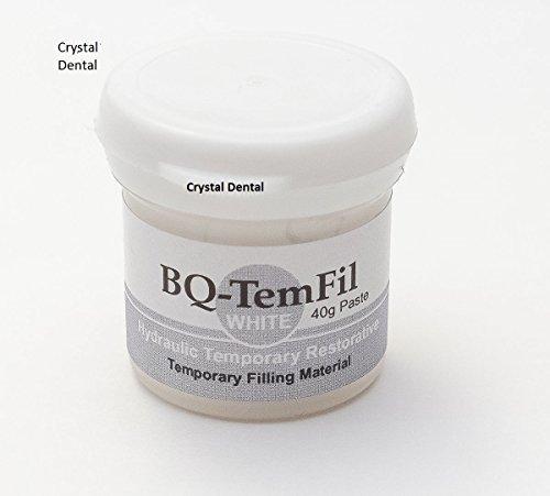 Meta BQ-Temfil, White, Dental Restorative Cavity Filling Material, 40g Paste by Crystal
