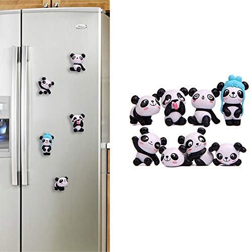 Refrigerator Magnets Clearance , Funny Panda Fridge Magnet Sticker Toy Refrigerator Message Holder Home Decor Gifts]()