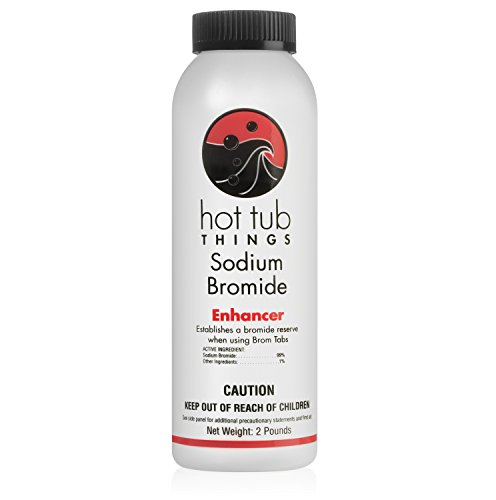Bromine Booster - Hot Tub Things Sodium Bromide 2 Pound - Sanitizes Your Hot Tub Water