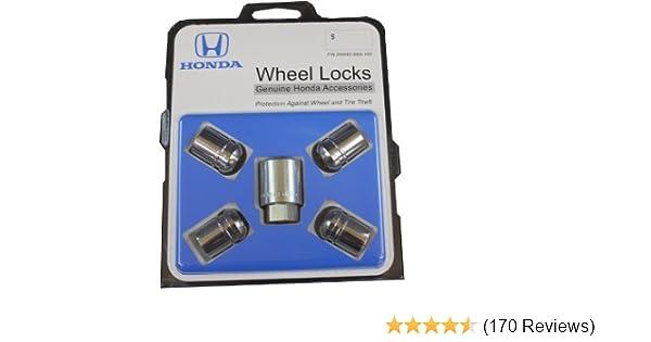 093173ce931e Amazon.com  Honda Genuine Accessories 08W42-SNA-100 Alloy Wheel Lock   Automotive