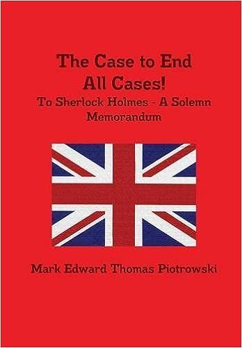 The Case to End All Cases!: Amazon.es: Mark Edward Thomas Piotrowski: Libros en idiomas extranjeros